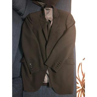 MEN'S BA-TSU・スーツ・ブラック・Y5・ウェスト78・中古・やや難あり