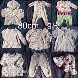 e6a5513865580 ベビーギャップ(babyGAP)の女の子服 80cm ベビーギャップ オールドネイビー