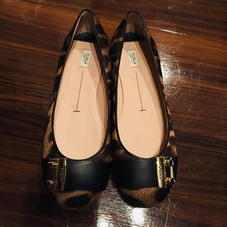 フルラ(Furla)のフルラ レオパード柄靴(バレエシューズ)