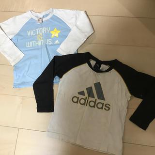 アディダス(adidas)のアディダスadidas長袖Tシャツ 110 120 難あり(Tシャツ/カットソー)