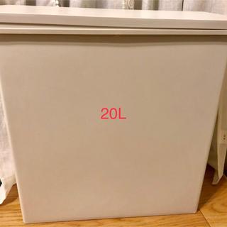 ムジルシリョウヒン(MUJI (無印良品))の無印 ダストボックス  ゴミ箱 20L(ごみ箱)