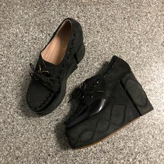 ヴィヴィアンウエストウッド(Vivienne Westwood)のハイソールシューズ(ローファー/革靴)