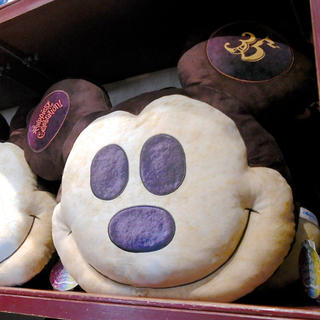 ディズニー(Disney)のディズニー35周年グランドフィナーレ クッション(クッション)