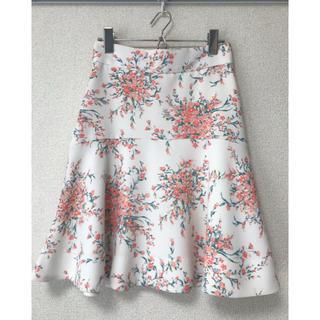 マーキュリーデュオ(MERCURYDUO)のマーキュリーデュオ ❁ 花柄スカート(ミニスカート)