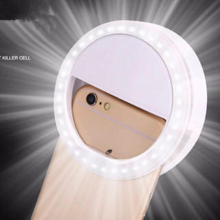 自撮り用ライト スマホ用ライト 照明 フラッシュ セルカ インスタ(ストロボ/照明)
