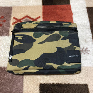 A BATHING APE - A BATHING APE 1ST CAMO MUSIC POUCH☺️