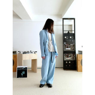 サンシー(SUNSEA)の[専用]SUNSEA 18SS TI-FUNNY BLUE パンツ(セットアップ)