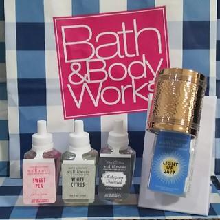 バスアンドボディーワークス(Bath & Body Works)の在庫処分セール! バスアンドボディワークス ウォールフラワー セット(アロマポット/アロマランプ/芳香器)