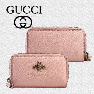 4828e99ed0c2 グッチ(Gucci)のグッチ GUCCI キーケース 蜂 アニマリエ ピンク 新品 35%オフ