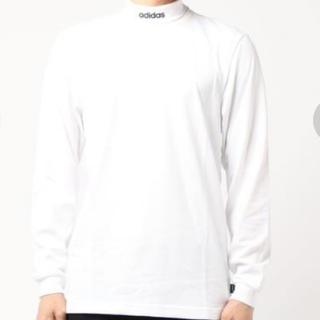 アディダス(adidas)の新品★アディダス★タートルネック★M(Tシャツ/カットソー(七分/長袖))