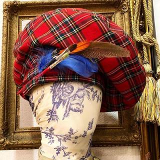 ヴィヴィアンウエストウッド(Vivienne Westwood)のビッグベレー  gdoragon rockforever M様専用 20日まで(ハンチング/ベレー帽)