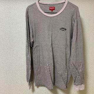 シュプリーム(Supreme)のsupremeティーシャツ(Tシャツ(長袖/七分))