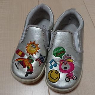 ジャム(JAM)のJAM☆シルバースリッポン靴18㎝(スリッポン)