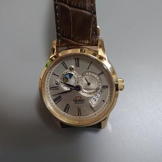 オリエント(ORIENT)の新品同様。値下げしました。日本製。オリエント機械式時計(腕時計)
