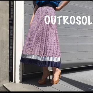 ユナイテッドアローズ(UNITED ARROWS)の最終値下げOUTROSOL プリーツスカート(ロングスカート)