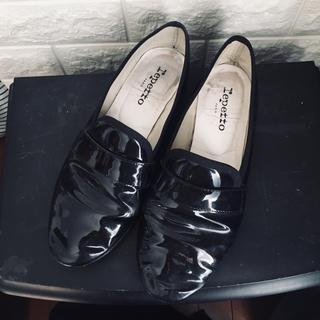 レペット(repetto)のレペット フラット シューズ マイケル エナメル ブラック(ローファー/革靴)