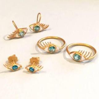 アッシュペーフランス(H.P.FRANCE)のマリーエレーヌドゥタイヤック eye モチーフリング(リング(指輪))