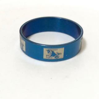 同時購入で300円 ステンレス指輪 魚山羊(リング(指輪))