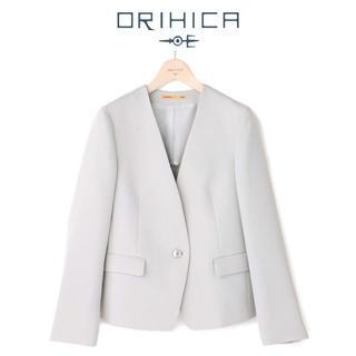 オリヒカ(ORIHICA)の新品M/THE 3rd SUITS 洗える 防シワ ストレッチ ノーカラー春夏(ノーカラージャケット)