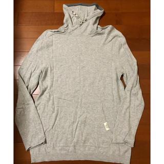 ザラ(ZARA)の【美品】ZARA ザラ 13-14 164cm コットン100% グレーセーター(Tシャツ/カットソー)
