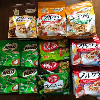 ネスレ(Nestle)のフルグラ ミロ キットカットセット(菓子/デザート)
