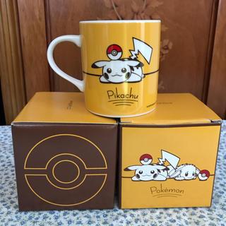 ポケモン(ポケモン)の【新品】ポケモン マグカップ 2個セット 非売品 Softbank(マグカップ)