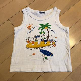 ファミリア(familiar)のfamiliar  タンクトップTシャツ  80(タンクトップ/キャミソール)