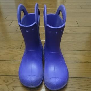 中古□クロックス長靴19cm(長靴/レインシューズ)