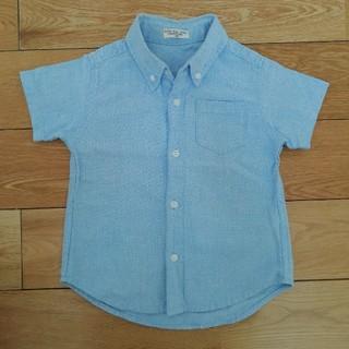 ニシマツヤ(西松屋)の値下★美品 半袖 シャツ 100センチ(ドレス/フォーマル)