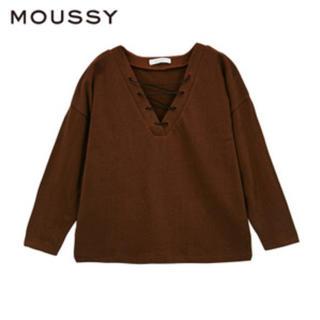 マウジー(moussy)のMOUSSY tops(カットソー(長袖/七分))
