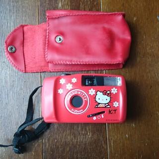 ハローキティ(ハローキティ)のキティちゃんカメラ(フィルムカメラ)