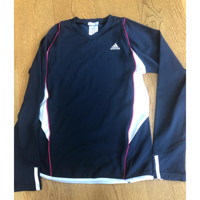 adidas(アディダス)のアディダス 長袖Tシャツ S レディースのトップス(Tシャツ(長袖/七分))の商品写真