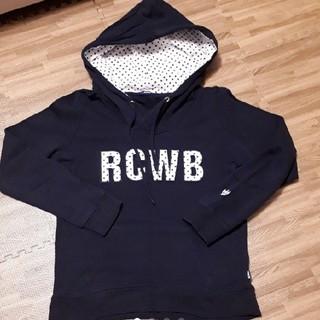 ロデオクラウンズワイドボウル(RODEO CROWNS WIDE BOWL)のRCWBドット柄パーカー M(パーカー)