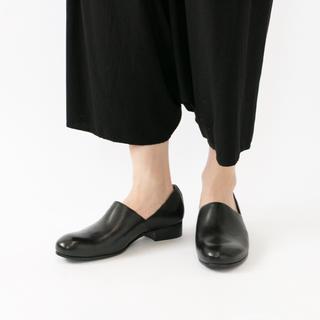 ショセ(chausser)のchausse ショセ ドクター レザー シューズ スリッポン C-2250BL(ローファー/革靴)