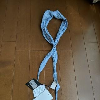 アルテア(ALTEA)のaltea コットンシルク バンダナ柄スカーフ新品(バンダナ/スカーフ)