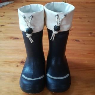 ムジルシリョウヒン(MUJI (無印良品))の無印良品 レインシューズ 長靴 17センチ(長靴/レインシューズ)