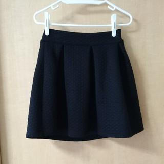 マーキュリーデュオ(MERCURYDUO)のマーキュリーデュオ キルティング スカート 黒 ブラック (ミニスカート)