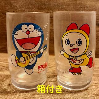 アサヒ(アサヒ)のドラえもん・ドラミちゃん グラス  非売品(キャラクターグッズ)