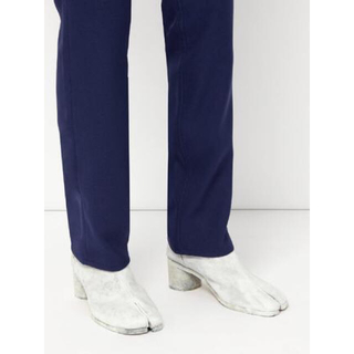 マルタンマルジェラ(Maison Martin Margiela)のマルジェラ 足袋ブーツ ペイント ペンキ 42 19ss(ブーツ)