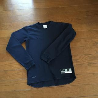 ナイキ(NIKE)の少年野球アンダーシャツ 紺色(野球)