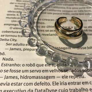 マウジー(moussy)のゴールド リング(リング(指輪))