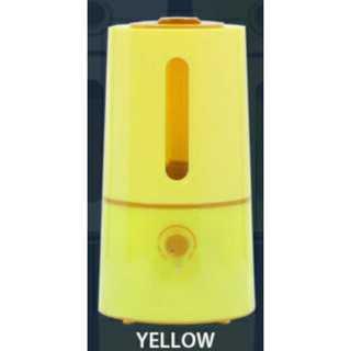 イエロー/加湿器/ポップ/軽量/タワー型/アロマ/ミニ■(加湿器/除湿機)