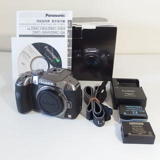 パナソニック(Panasonic)のモック様専用 パナソニック LUMIX DMC-G6 ボディ 元箱付(デジタル一眼)