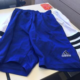 アディダス(adidas)のADIDASバスパンブルーホワイトラインL(バスケットボール)
