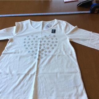 ギャップ(GAP)の新品未使用gap長T150白(Tシャツ/カットソー)