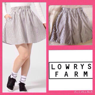 ローリーズファーム(LOWRYS FARM)の今季スカート!(ミニスカート)