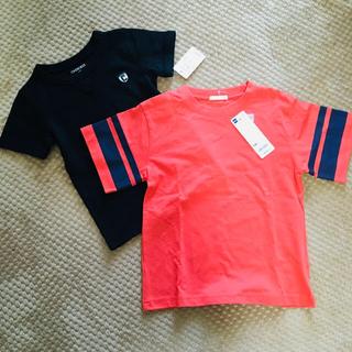 ジーユー(GU)の新品未使用タグ付き☆Tシャツ2枚セット(Tシャツ/カットソー)