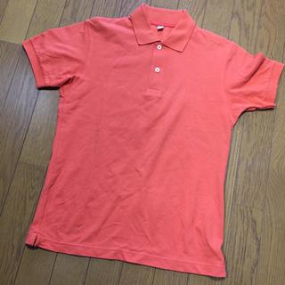 ユニクロ(UNIQLO)のユニクロ ポロシャツ オレンジ(ポロシャツ)