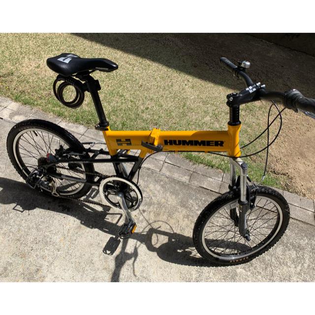 HUMMER(ハマー)のHUMMER ハマー 折りたたみ自転車 20インチ スポーツ/アウトドアの自転車(自転車本体)の商品写真