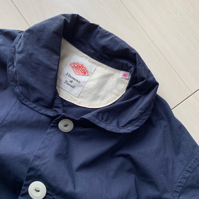 DANTON(ダントン)のDANTON カバーオール 40サイズ 丸襟 メンズのジャケット/アウター(カバーオール)の商品写真